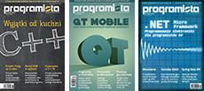 3 numery Programisty w prezencie w prenumeracie