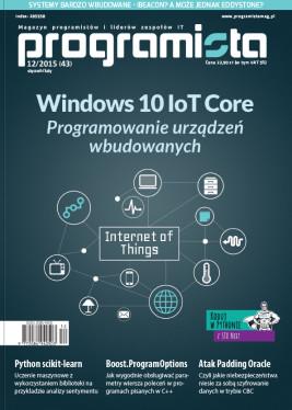 Programista - miesięcznik - prenumerata kwartalna już od 21,67 zł