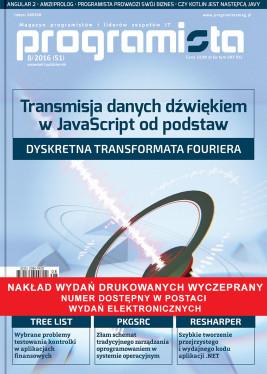 Programista 08/2016 wrzesień/paźdzernik