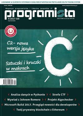 Programista 04/2017 aktualny maj/czerwiec