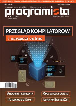 Programista 07/2017 aktualny sierpień/wrzesień