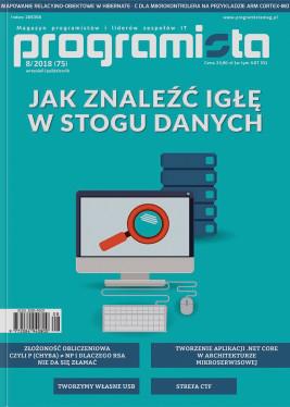 Programista 08/2018 aktualny październik/listopad