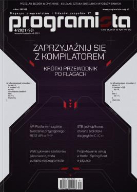 Programista 4/2021 aktualny wrzesień/październik
