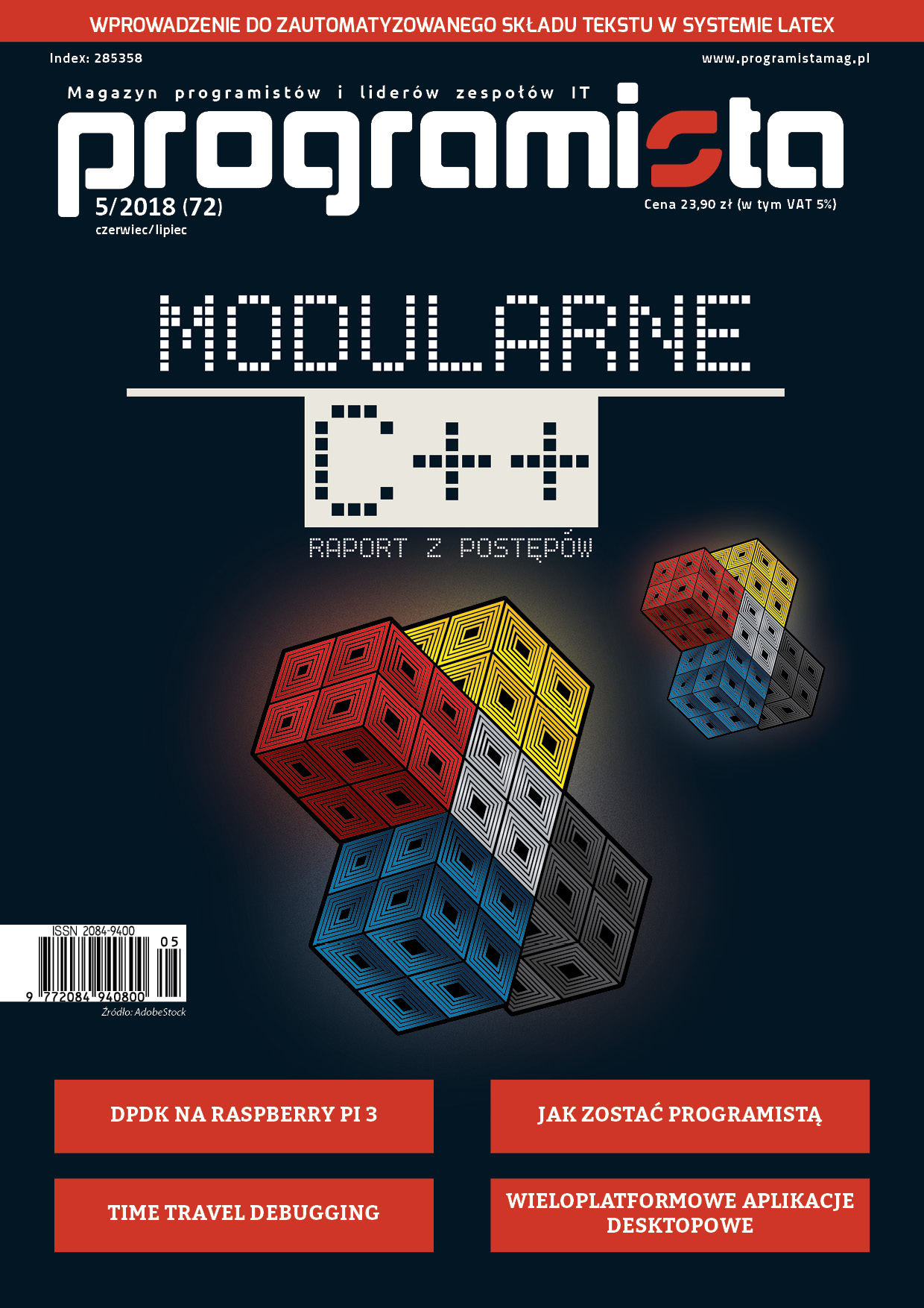 Magazyn Programista | Programista 5/2018 (72) – czerwiec