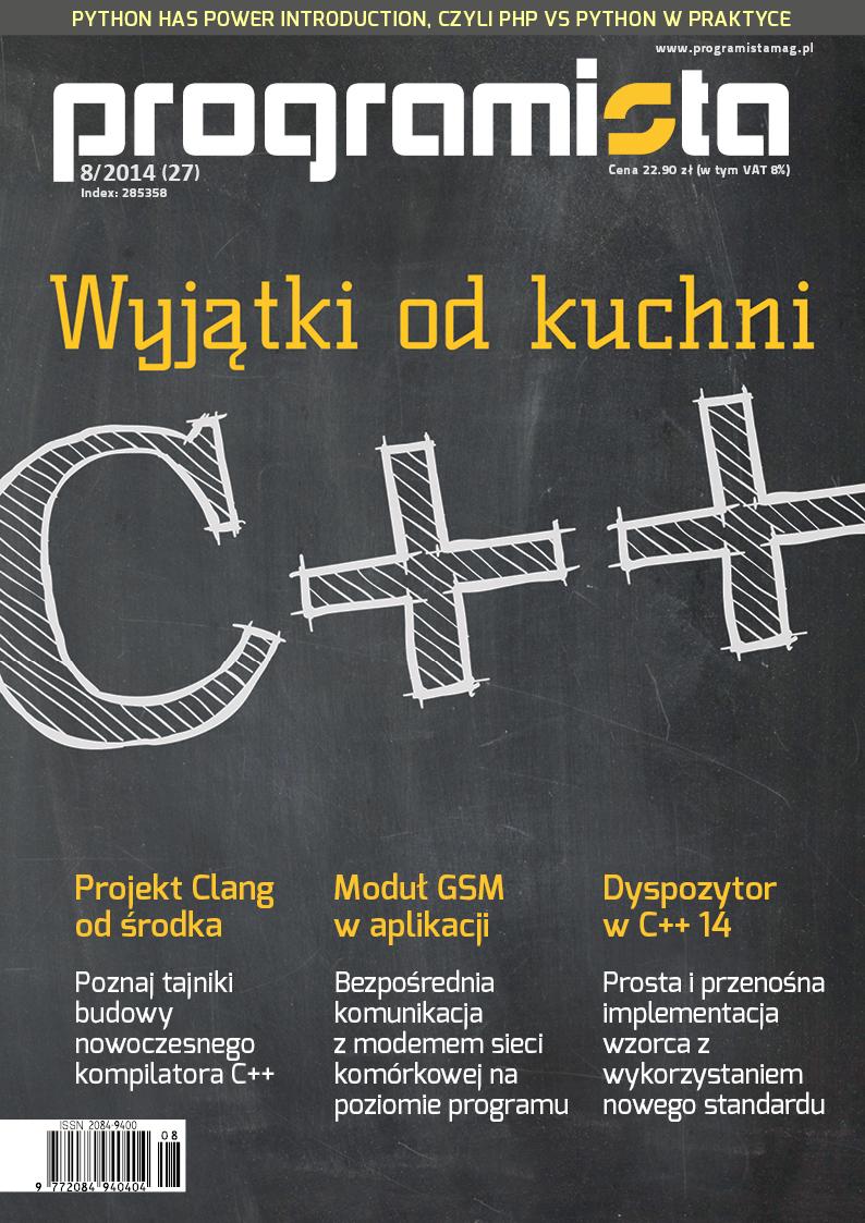 Programista 08/2014 (27) [okładka]