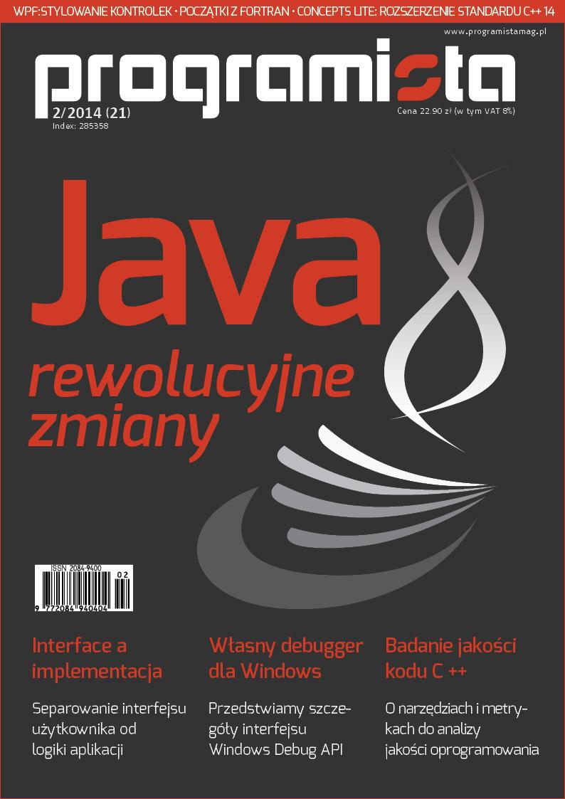 Programista 02/2014 (21) [okładka]