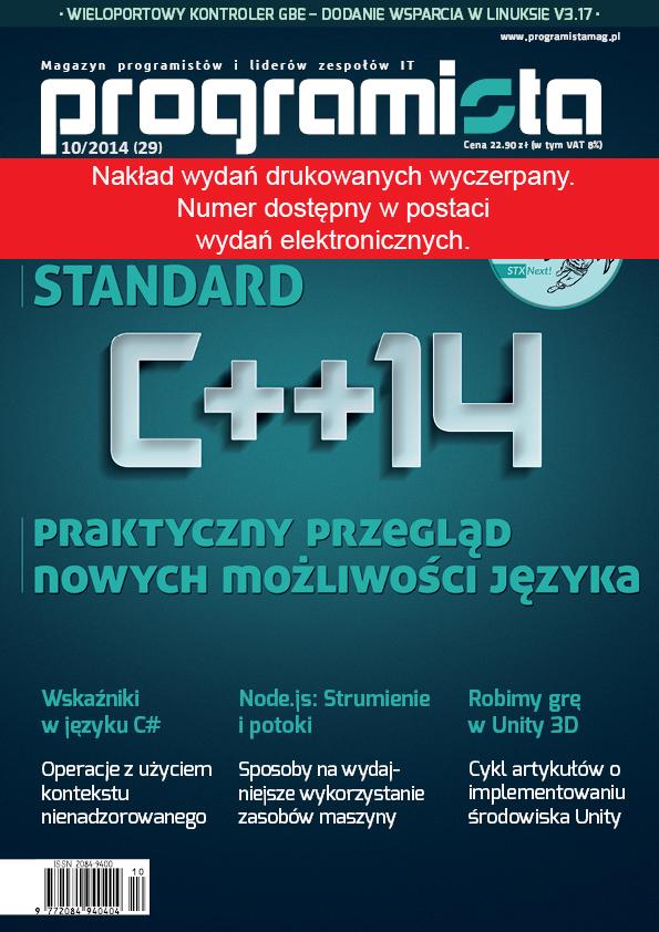 Programista 10/2014 (29) [okładka]