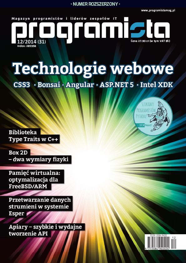 Programista 12/2014 (31) [okładka]