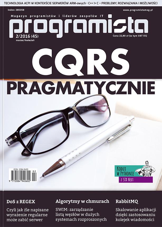 Programista 02/2016 (45) marzec/kwiecień [okładka]