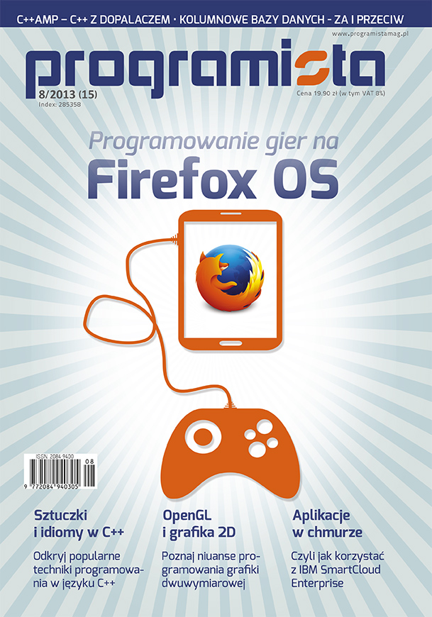 Programista 8/2013 (15) [okładka]