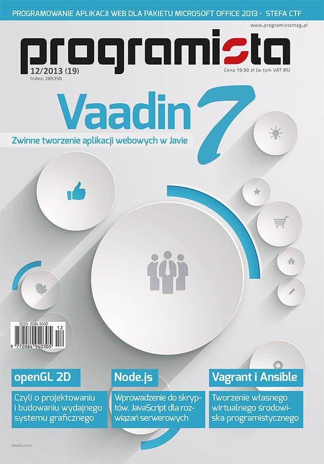 Programista 12/2013 (19) [okładka]