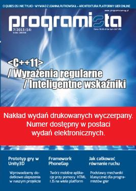 Programista 7/2013 (14) [okładka]