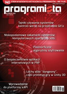 Programista 6/2013 (13) [okładka]